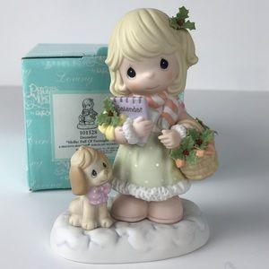 Precious Moments December Figurine
